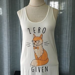 Fox Tank Top Small